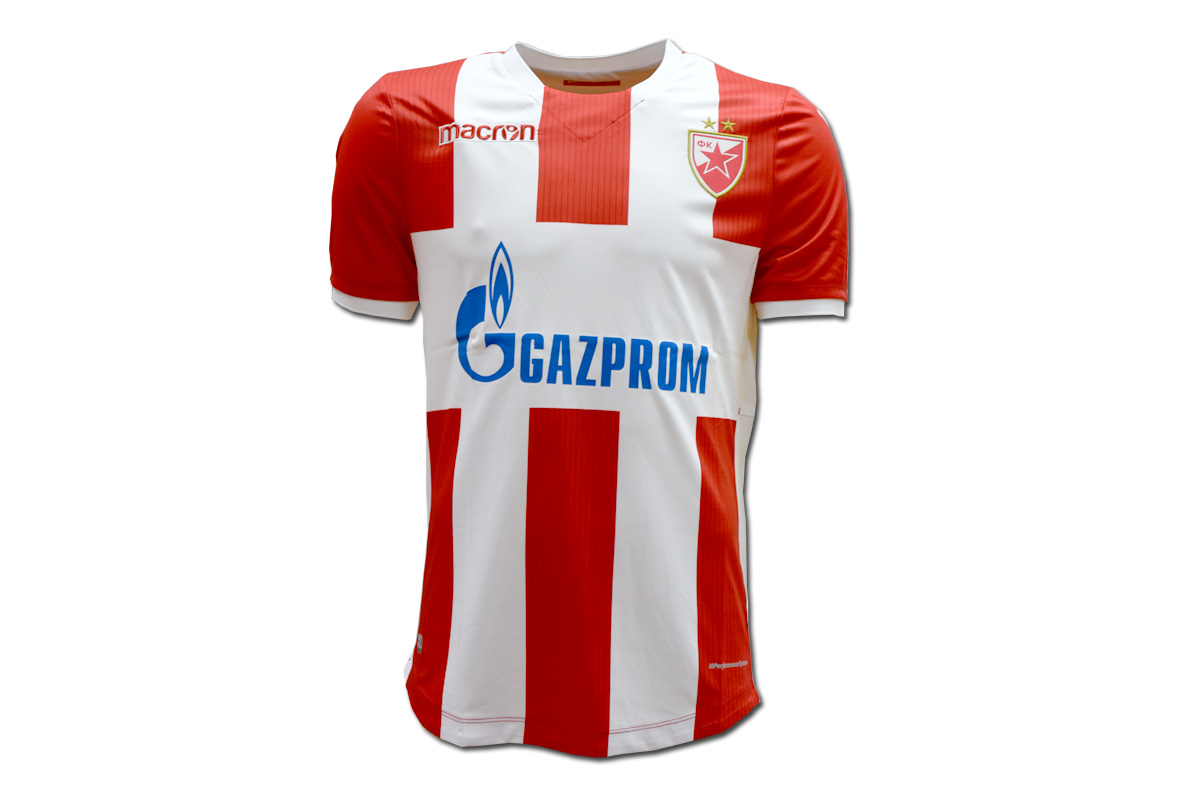 Macron- red-white jersey FC Red Star 2017 18 – Red Star Shop 0334179f1