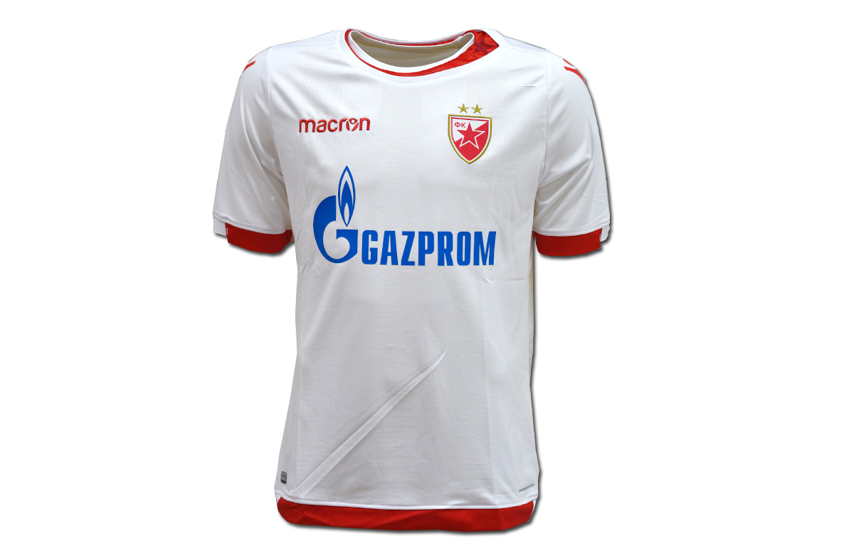 Macron-white jersey FC Red Star 2017 18 – Red Star Shop cf7d6ce31