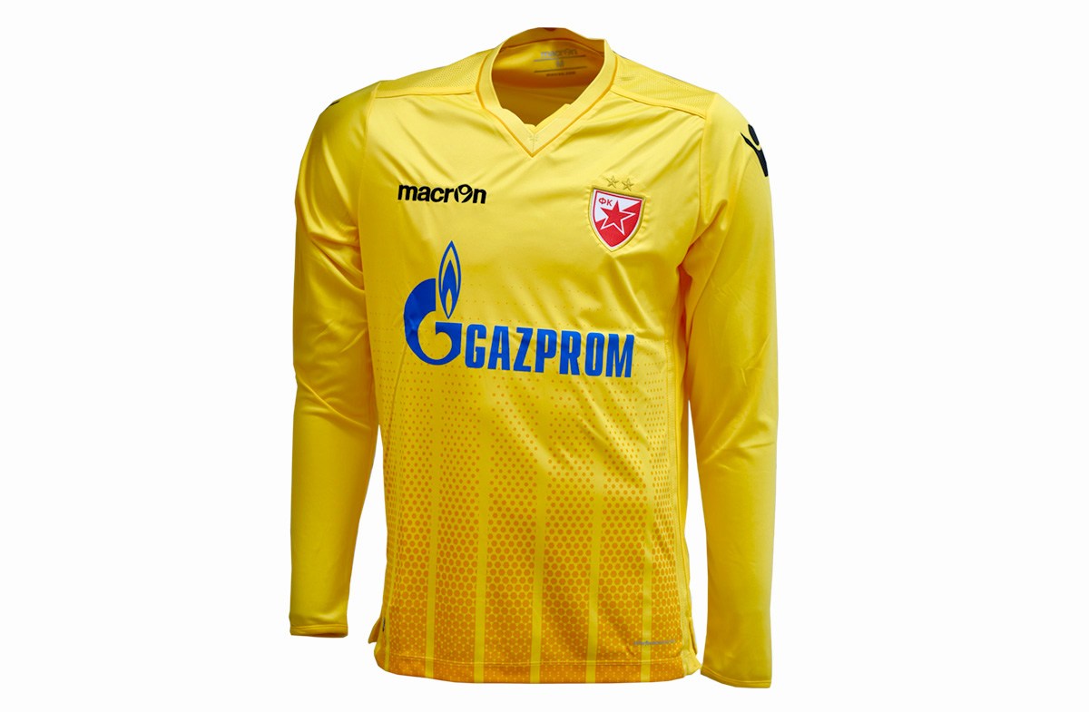 sports shoes 6fcc5 165b8 Macron-Goalkeeper jersey(yellow) FC Red Star 2017/18